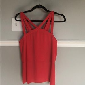 Bcbg red top